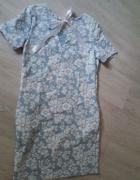 Nowa niebieska sukienka 36S
