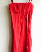Czerwona sukienka S 36