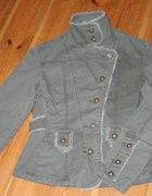 Militarny żakiet kurtka khaki
