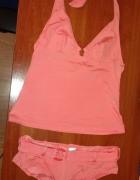 kostium brzoskwiniowy 34