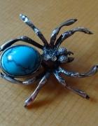 srebrny pająk