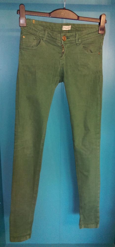 Spodnie Zielone spodnie 36