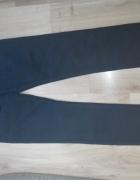 Czarne nowe męskie spodnie