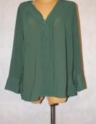 Zielona bluzka mgiełka Bodyflirt Rozmiar 46