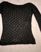 Ażurowy sweter rozm S