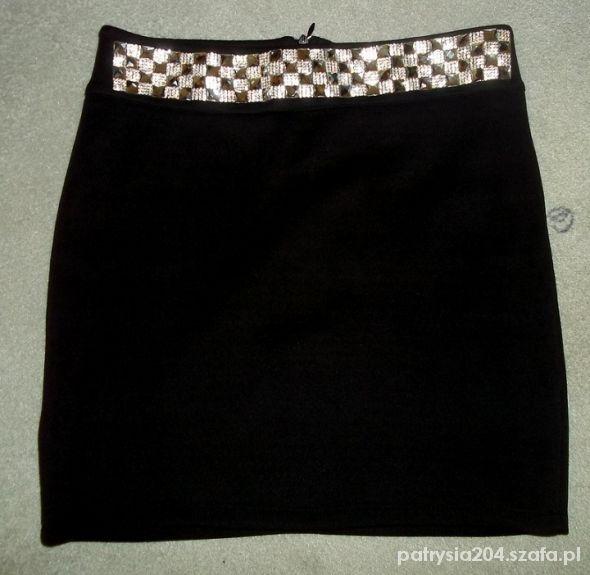 Spódnice Spódniczka z brylantami biała i czarna