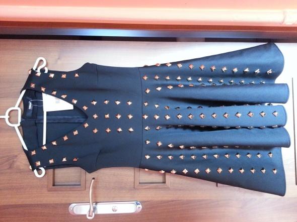 Suknie i sukienki czarna cwieki s m