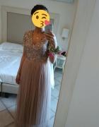 Długa sukienka ASOS Maya Petite