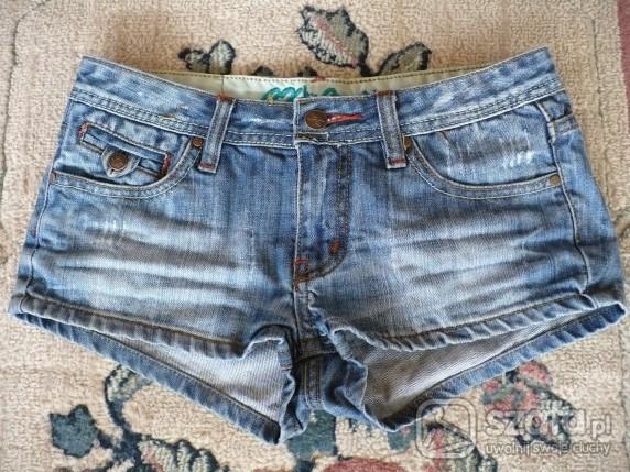 Dżinsowe szorty rozmiar S