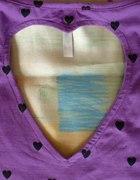 Bluzka House z wyciętym sercem na plecach M