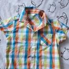 Zestaw dwie koszule spodenki 92 98
