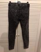 Spodnie marmurki H&M...