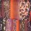 Bluzka Mgiełka w kolorowy wzór M&S Rozmiar 42