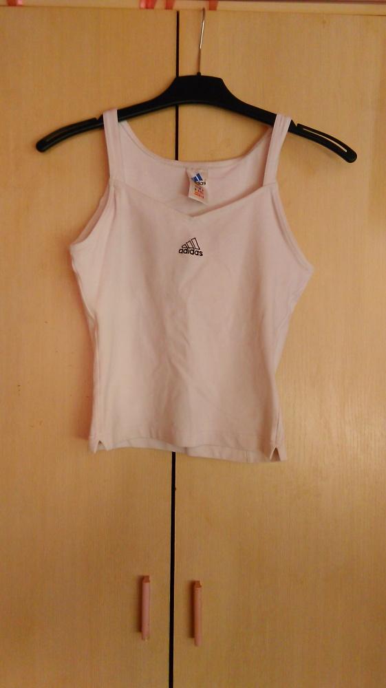 Biała Adidas...