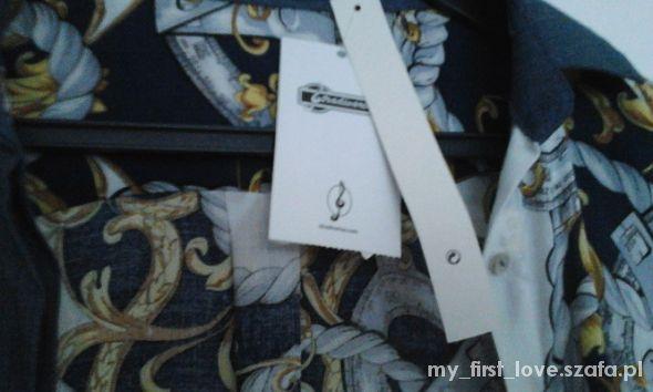 Koszule wzorzysta koszula nowa stradivarius M