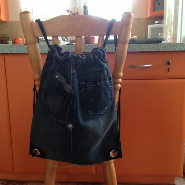 Plecaki Plecak na sznurkach Jeans