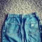 Jeansowa spódnica S