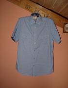 Męska koszula krótki rękaw 39 40 m...