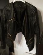Ramoneska kurtka zipy skórzana...