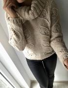Sweter pleciony TU