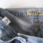 Modna spódnica jeansowa na guziki