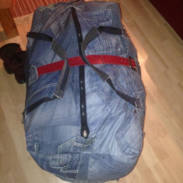 Duża torba Jeans