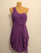 Fioletowa elegancka sukienka Coast Rozmiar 38