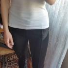 legginsy czarne