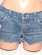 Krótkie jeansowe spodenki levis XS S 34 36
