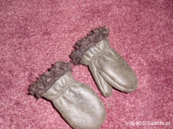 NEXT rękawiczki z eko skóry roz 74
