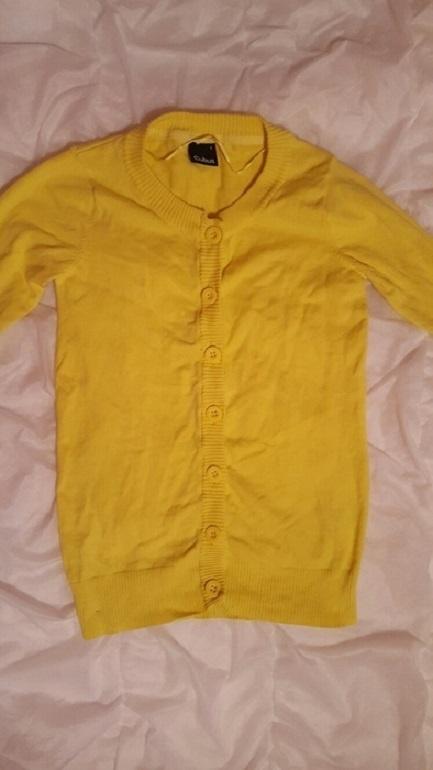 Żółty sweter Cubus 36 S...