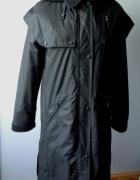 Czarna kurtka ciepła zimowa parka płaszcz Loft luksusowa...