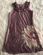 Różowa sukienka Tsega