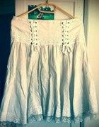 Biała spódnica Morgan M...