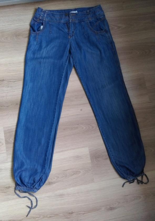 Spodnie Luźne jeansowe spodnie Promod