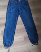 Luźne jeansowe spodnie Promod...
