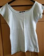 bawełniana bluzka bluzka błękitna bluzka