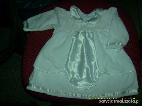 Sukienki i spódniczki welurowa sukieneczka może być do chrztu
