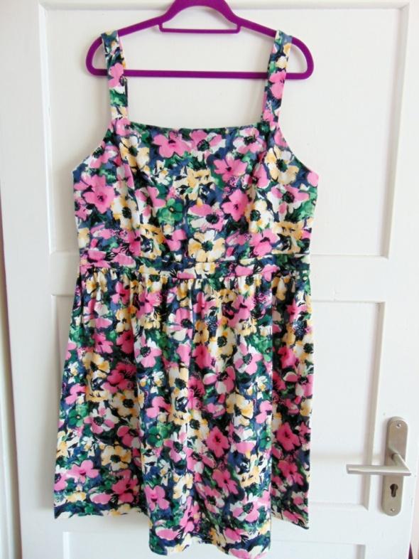 Suknie i sukienki sukienka w kwiaty 48