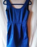 Niebieska sukienka M raz założona