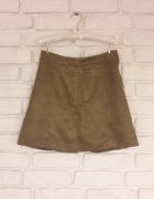 Spódnica boho oliwkowa H&M...
