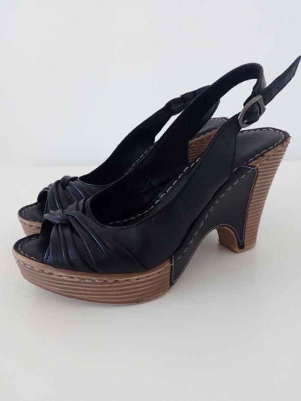 Sandały Lasocki Sandały na koturnie