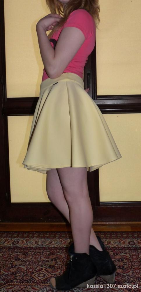 Spódnice żółta spódniczka piankowa 40 L