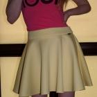 żółta spódniczka piankowa 40 L