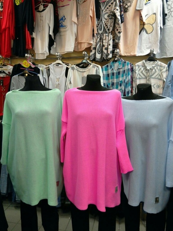 rózowy sweterek sukienka