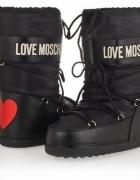 Śniegowce LOVE MOSCHINO 38 NOWE