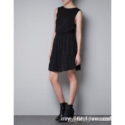 nowa sukienka ZARA S z cekinami na plecach