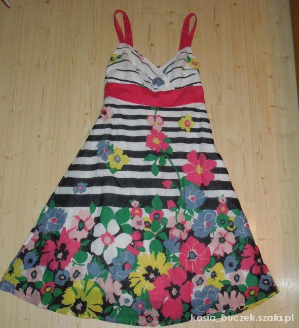 Suknie i sukienki Letnia sukienka w kwiaty