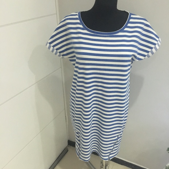 Dzianinowa Sukienka w paski Reserved L...