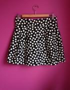 Czarna spódniczka w serduszka H&M